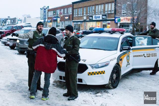La Sûreté du Québec mène depuis octobre un... (Photo Martin Tremblay, archives La Presse)