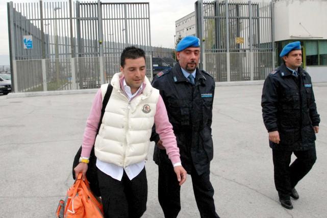 Salvatore Riina, 39 ans, est aujourd'hui en liberté... (PHOTO CLAUDIO LATTANZIO, ARCHIVES REUTERS)