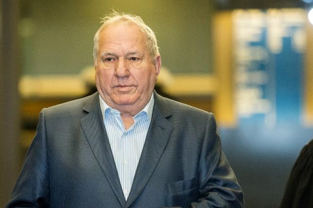 Bernard Trépanier, coaccusé dans le procès pour fraude... (Photo Edouard Plante-Fréchette, archives La Presse)