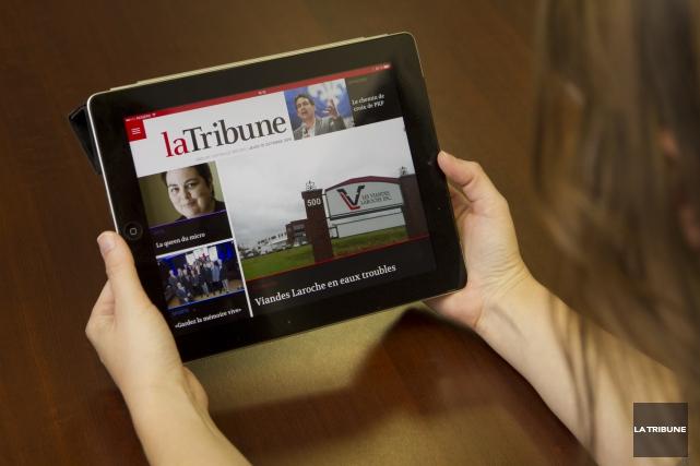 Les médias numériques - consultés sur un ordinateur, un téléphone intelligent... (Archives La Tribune)