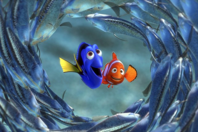 Finding Nemo... (PHOTO FOURNIE PAR DISNEY/PIXAR)