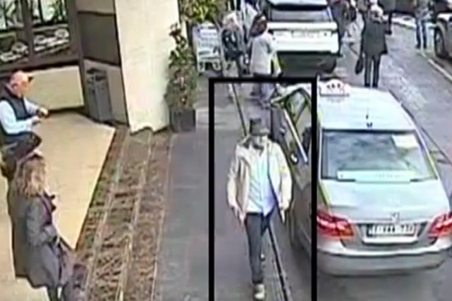 La police a dévoilé de nouvelles images de... (IMAGE TIRÉE DE LA VIDÉO)