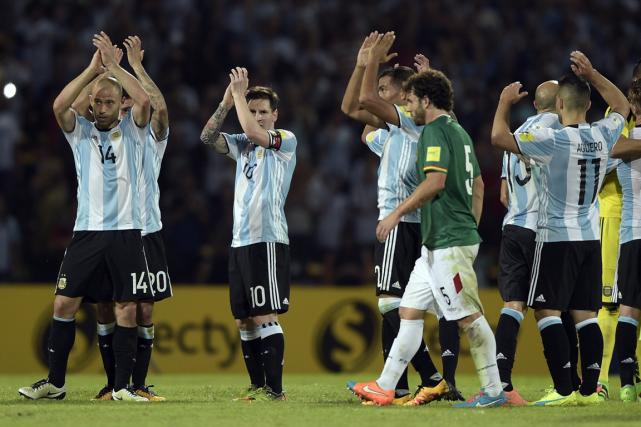 L'Argentinea mis fin au règne de cinq mois... (Photo Juan Mabromata, AFP)