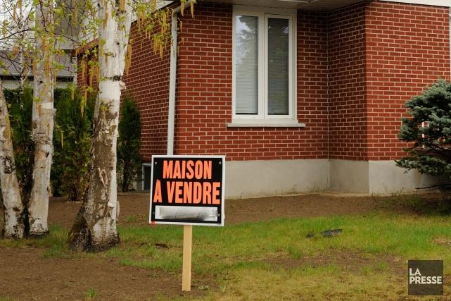 Les prix des propriétés de la région de Sherbrooke ont augmenté de 5,3 pour... (Archives La Presse)
