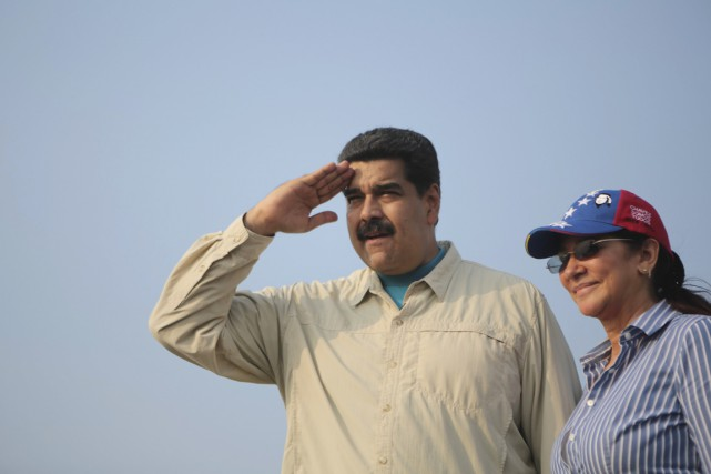 Le président Maduro, que l'on voit ici en... (PHOTO ARCHIVES REUTERS/PALAIS MIRAFLORES)