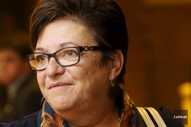 La conseillère Louise Boudrias reproche au maire de... (Simon Séguin-Bertrand, Archives LeDroit)