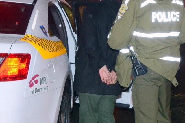 Les policiers ont mis la main sur un... (Photo collaboration spéciale Éric Beaupré)