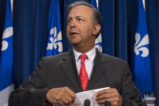 Sam Hamad... (La Presse Canadienne, Jacques Boissinot)