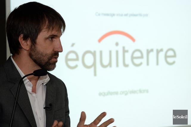 StevenGuilbeault, du groupe écologiste Équiterre.... (PHOTO ÉRICK LABBÉ, ARCHIVES LE SOLEIL)
