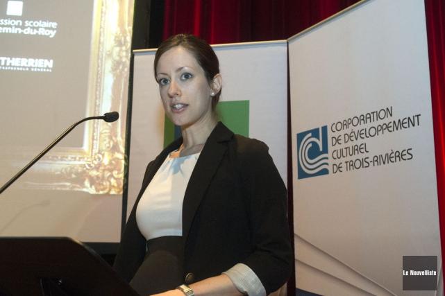 Lisa Dugré est responsable des Grands Prix culturels... (Stéphane Lessard, Le Nouvelliste)