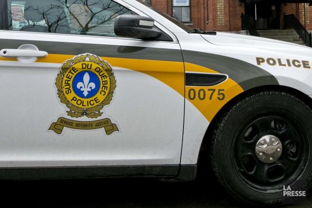 La Sûreté du Québec est intervenu deux fois... (Archives La presse)
