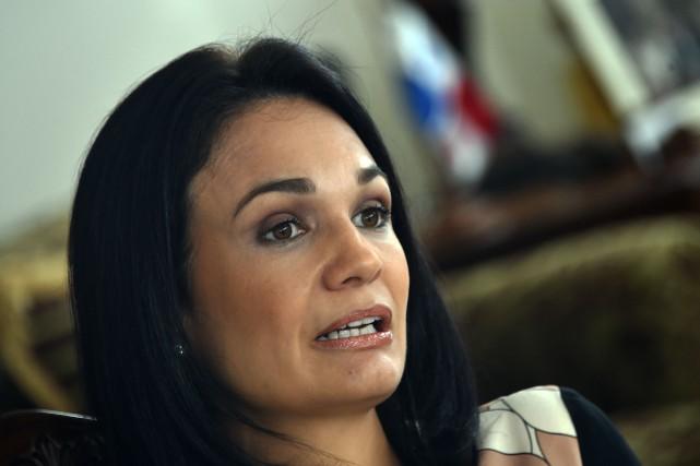 La vice-présidente et ministre des Affaires étrangères du... (PHOTO RODRIGO ARANGUA, AGENCE FRANCE-PRESSE)