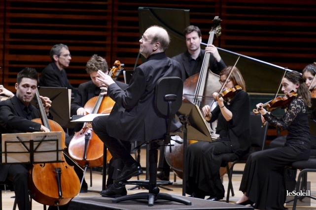 Bernard Labadie a dirigé avec doigté et passion,... (Le Soleil, Jean-Marie Villeneuve)