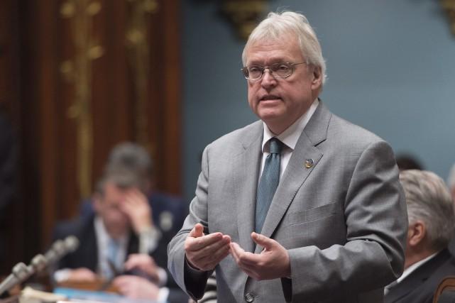 Pour une rare fois dans la carrière politique... (Archives La Presse Canadienne, Jacques Boissinot)