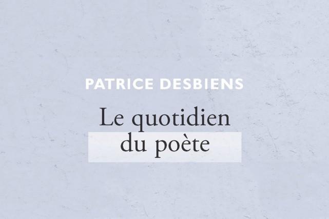 «Un café/un ou deux/poèmes/dans le/grille-pain/La journée/commence»....