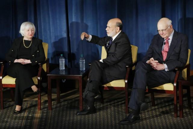 La présidente de la Banque centrale américaineJanet Yellen,... (PHOTO ASSOCIATED PRESS)