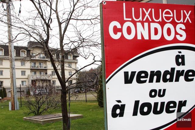 Le marché immobilier de Gatineau est en voie de s'équilibrer grâce à un bon... (Etienne Ranger, Archives LeDroit)