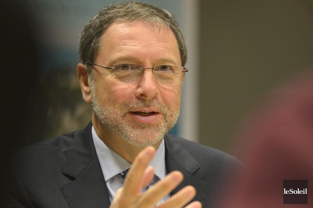 Yves-Thomas Dorval, pdg du Conseil du patronat du... (Photothèque Le Soleil)