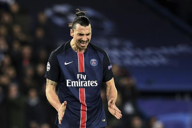 Zlatan Ibrahimovic... (AFP, Franck Fife)