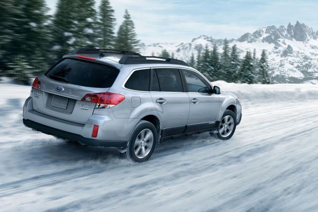 Derrière ses apparences ordinaires, ce Subaru est un... (Photo : Subaru)