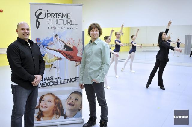 Raymond Tremblay, directeur de production du Prisme culturel,... (Photo Le Quotidien, Rocket Lavoie)
