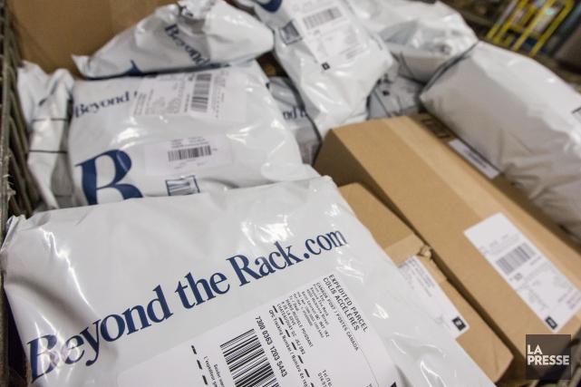 L'entreprise Beyond the Rack s'est placée à l'abri... (Photo Olivier Pontbriand, Archives La Presse)