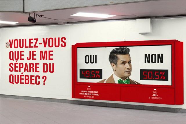 Sugar Sammy aime taquiner l'Office québécois de la... (Photo  Infopresse et Sid Lee)