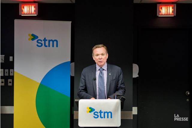 Le président du conseil d'administration de la STM,... (PHOTO MARCO CAMPANOZZI, LA PRESSE)