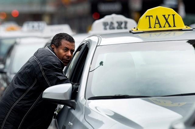 L'arrivée d'UberX ne s'est pas faite sans anicroche... (Photo Nathan Denette, archives PC)