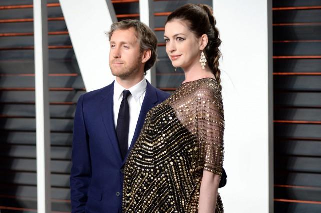 Le couple aux Oscars en février dernier.... (PHOTO ARCHIVES AP)