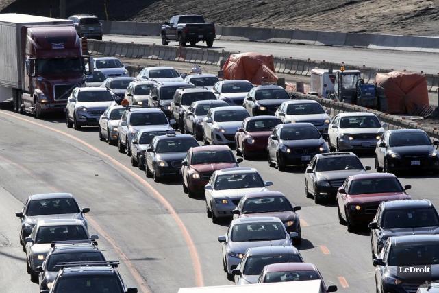 Hors de situations bien précises, la congestion routière... (Etienne Ranger, Archives LeDroit)