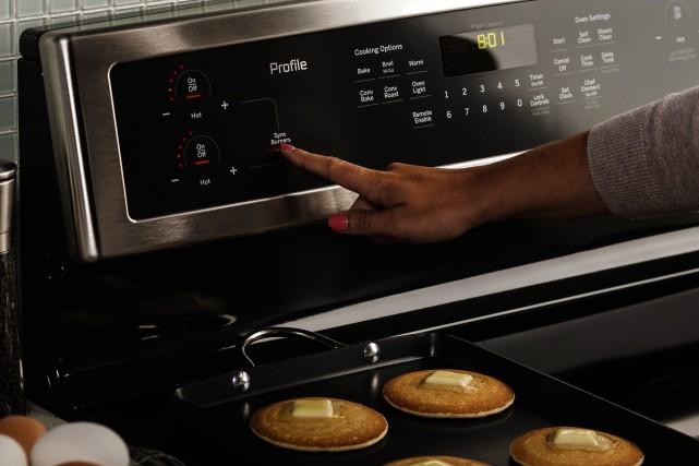 En mai, Électroménagers GE lancera une nouvelle cuisinière... (Électroménagers GE)