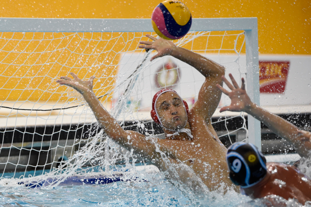 L'équipe canadienne de water-polo masculin ne participera pas aux Jeux... (Photo Eric Bolte, archives USA Today)