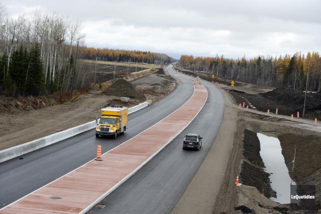 La mise en service de l'autoroute 70 entre... (Archives Le Quotidien)