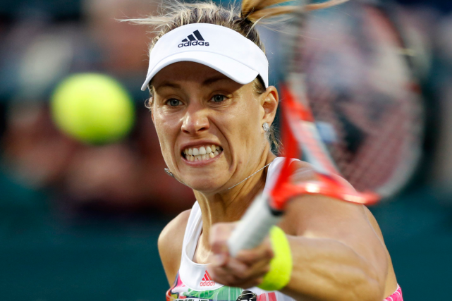 Angelique Kerber... (Photo Mic Smith, AP)