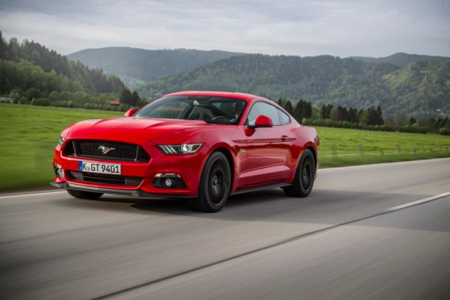 La Ford Mustang a été la No 1... (Photo Ford Allemagne)