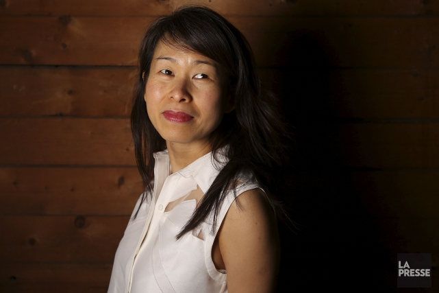 À l'instar du Petit Poucet, Kim Thúy marque... (La Presse, Martin Chamberland)
