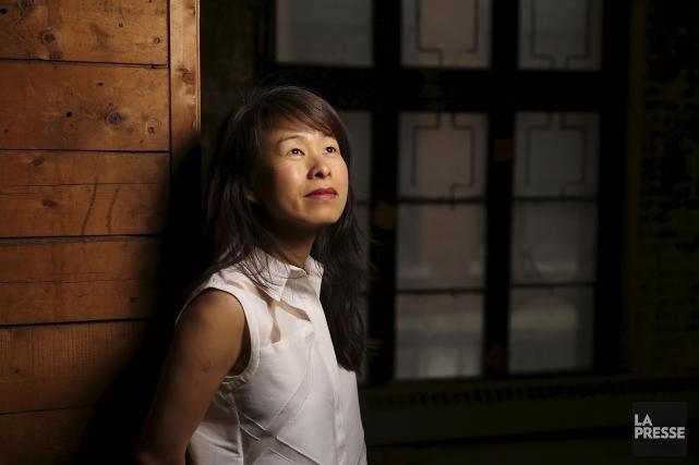 L'écrivaine Kim Thuy... (Martin Chamberland, La Presse)