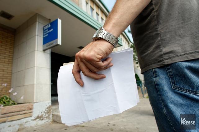Un bond dans la création d'emplois au Canada a fait reculer le taux de chômage... (Archives, La Presse)