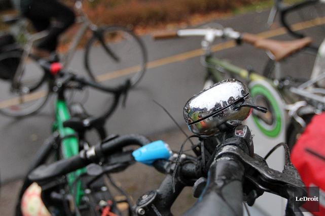 La part modale du vélo à Gatineau, à... (Etienne Ranger, Archives LeDroit)