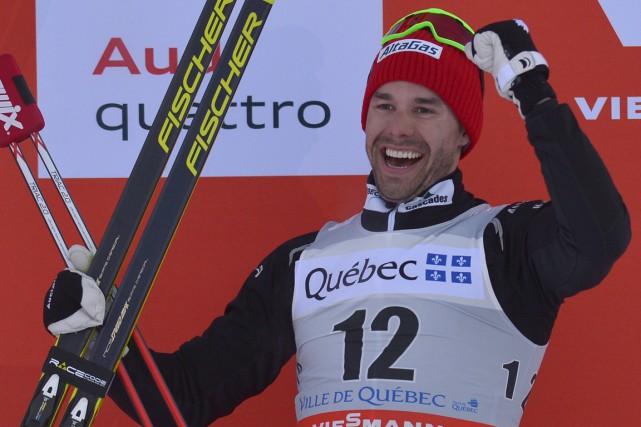 Alex Harveys'envole samedi pour Davos afin d'amorcer sa... (Photo Yan Doublet, Le Soleil)