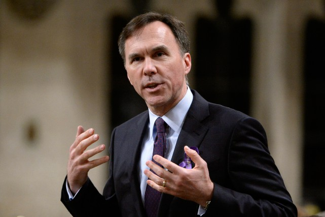 Le ministre des Finances du Canada, Bill Morneau,... (Photo Adrian Wyld, Archives La Presse Canadienne)