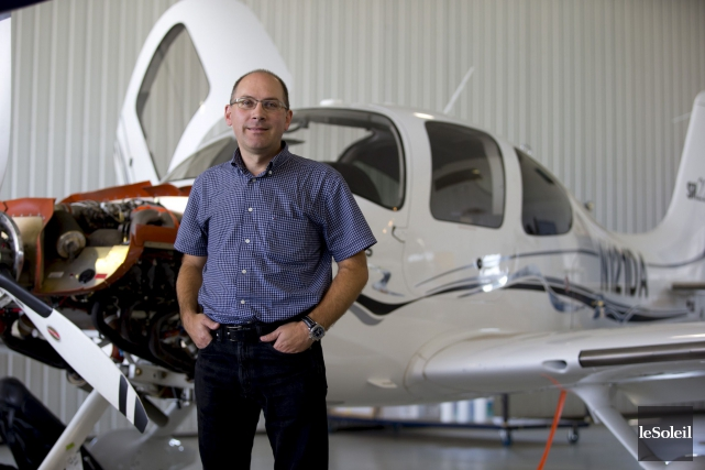 Pascal Gosselin était le président d'Aéro Teknic, entreprise... (Photo Archives Le Soleil)