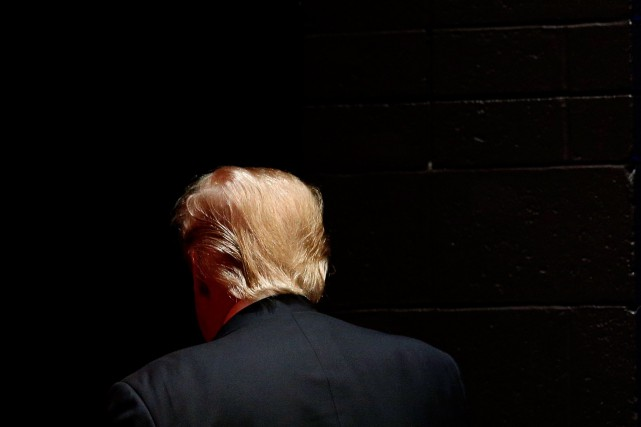Selon le magazine Economist, l'élection de Donald Trump... (PHOTO PATRICK SEMANSKY, ASSOCIATED PRESS)