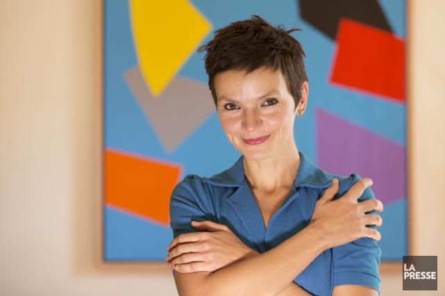 Anaïs Barbeau-Lavalette, auteure de La femme qui fuit,est... (Photo Ivanoh Demers, La Presse)