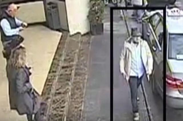 Le mystérieux «homme au chapeau» des attentats de... (Photo AP)