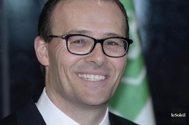 Guy Cormiera soutenu que les valeurs coopératives qui... (Photothèque Le Soleil, Jean-Marie Villeneuve)