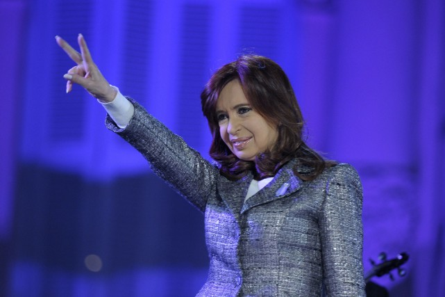 Cristina Kirchner fut présidente de l'Argentine de 2007... (PHOTO ALEJANDRO PAGNI, ARCHIVES AGENCE FRANCE-PRESSE)