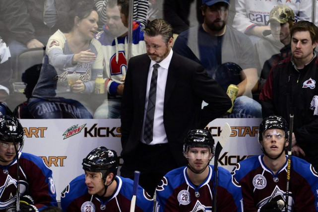 Le directeur général de l'Avalanche du Colorado, Joe Sakic, a confirmé que... (Photo USA Today Sports)