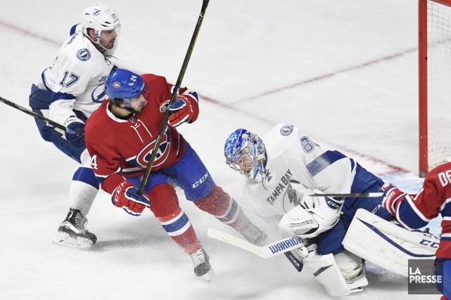 Relisez notre couverture du dernier match de la saison du Canadien. (Photo Bernard Brault, La Presse)